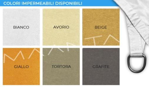 colori vele impermeabili
