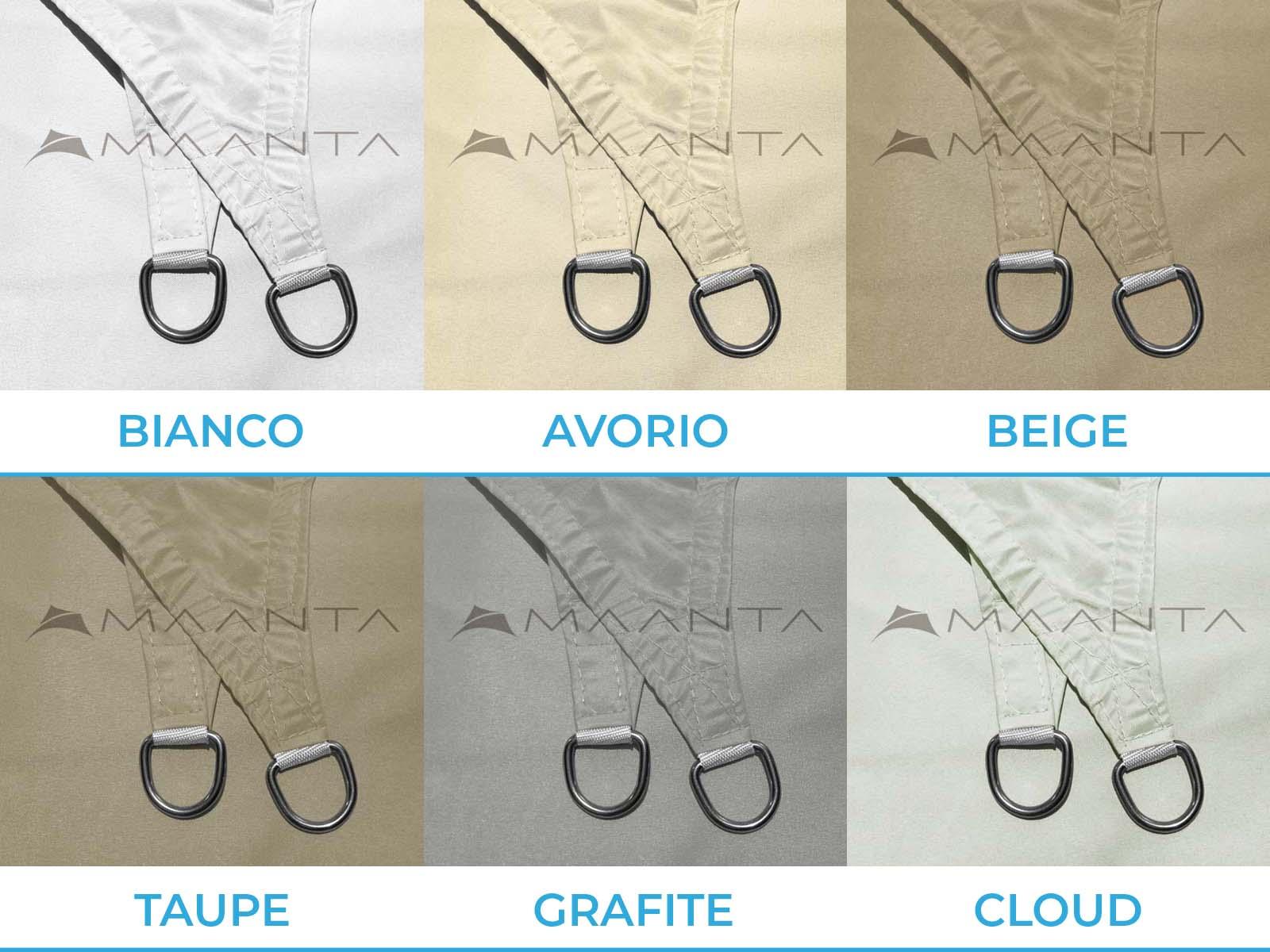 anelli in acciaio inox EasyShade V2
